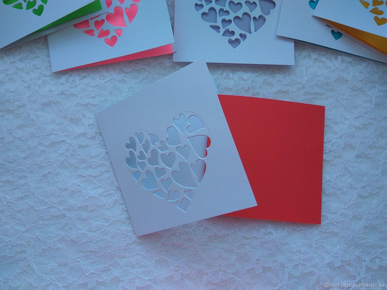 Бумага для открытки с вырубкой