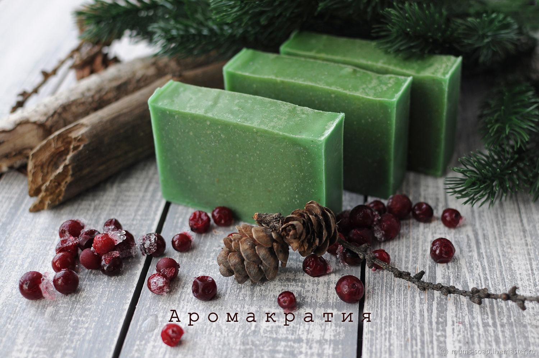 Мыло ручной работы. Ярмарка Мастеров - ручная работа. Купить Натуральное мыло Royal Forest, мыло с нуля. Handmade.