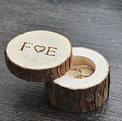 Свадебный салон handmade. Livemaster - original item For rings. Cushion for rings. Jewelry box for rings. Handmade.