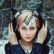 """Украшения ручной работы. Ярмарка Мастеров - ручная работа Украшение """"Winter Dragon"""". Handmade."""