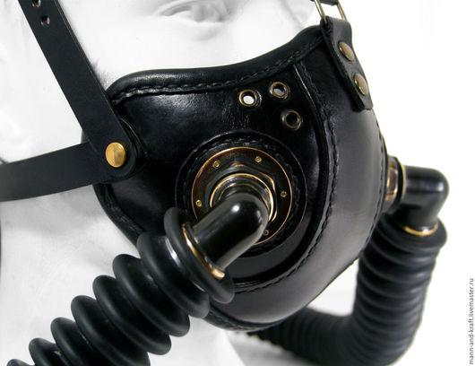 """Ролевые игры ручной работы. Ярмарка Мастеров - ручная работа. Купить Стимпанк маска - """"Raider Double Respirator"""" BLB. Handmade."""