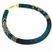 Украшения handmade. Livemaster - original item The wiring from the Japanese bead Mistress of copper mountain. Handmade.