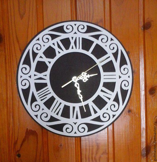 Часы для дома ручной работы. Ярмарка Мастеров - ручная работа. Купить Часы настенные. Handmade. Комбинированный, часы