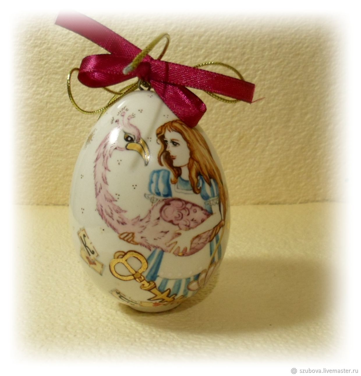 Hanging Christmas tree decoration Alice in Wonderland, Christmas decorations, Moscow,  Фото №1