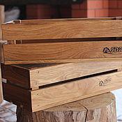 Ящики ручной работы. Ярмарка Мастеров - ручная работа Ящик из дуба. Handmade.