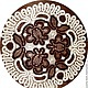 Текстиль, ковры ручной работы. Ярмарка Мастеров - ручная работа. Купить Салфетка крючком Кофе с молоком. Handmade. Коричневый