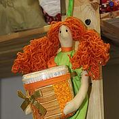 """Для дома и интерьера ручной работы. Ярмарка Мастеров - ручная работа Хранительница ватных палочек  """"Лили"""" № 501. Handmade."""