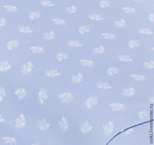 Шитье ручной работы. Ярмарка Мастеров - ручная работа. Купить Немецкий хлопок 75773. Handmade. Синий, немецкий хлопок