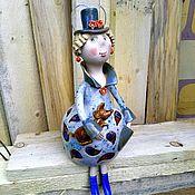 Дизайн и реклама handmade. Livemaster - original item Doll: The lady with the dog. Handmade.