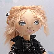 Куклы и игрушки ручной работы. Ярмарка Мастеров - ручная работа Черный ангел. Интерьерная кукла.. Handmade.