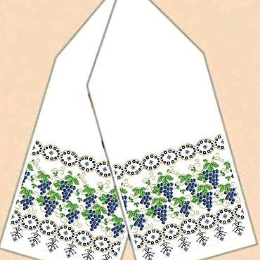 Русский стиль ручной работы. Ярмарка Мастеров - ручная работа Рушник для вышивания. Handmade.