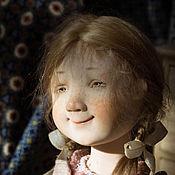 Куклы и игрушки ручной работы. Ярмарка Мастеров - ручная работа Маковая плюшка. Handmade.