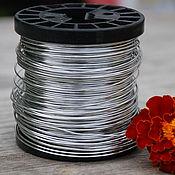 Материалы для творчества handmade. Livemaster - original item 0,8 mm copper Wire, silver. Handmade.