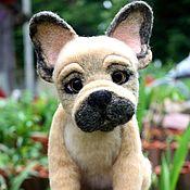 Куклы и игрушки handmade. Livemaster - original item French bulldog. Handmade.