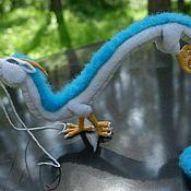Куклы и игрушки ручной работы. Ярмарка Мастеров - ручная работа Дракон Хаку в технике сухого валяния. Handmade.