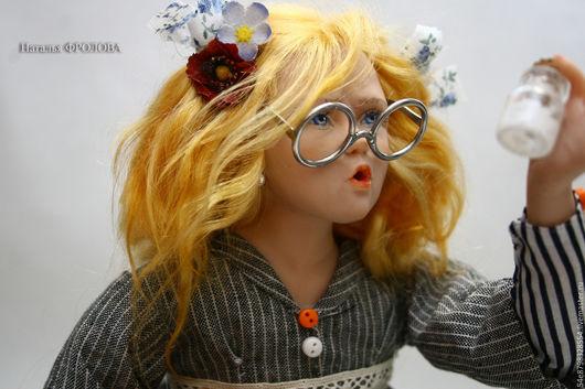 Коллекционные куклы ручной работы. Ярмарка Мастеров - ручная работа. Купить Вот кто съел сметану!!!. Handmade. Комбинированный