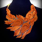 Украшения handmade. Livemaster - original item Leather necklace