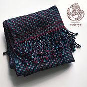 Шарфы ручной работы. Ярмарка Мастеров - ручная работа Мужской шарф #001 Ручное ткачество. Handmade.