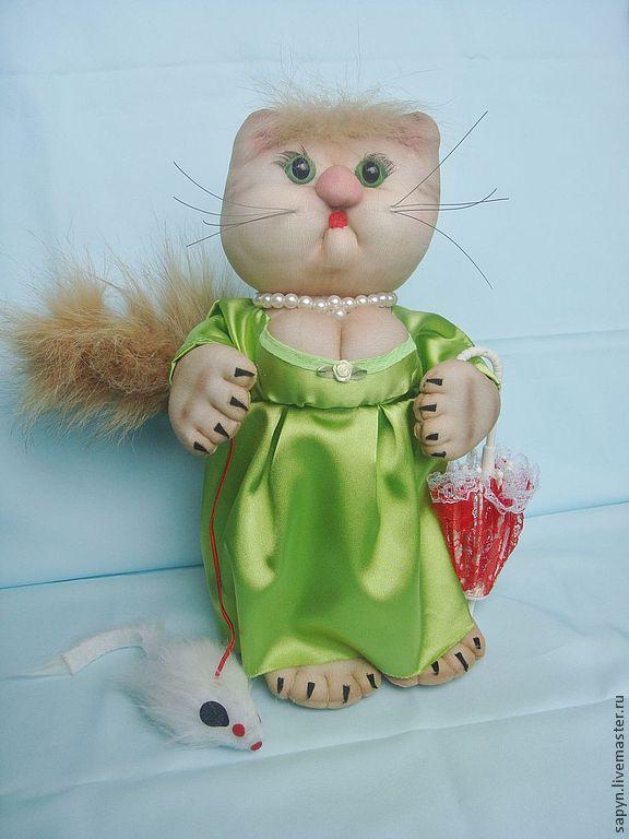 Мадам Кошкина, Мягкие игрушки, Москва,  Фото №1