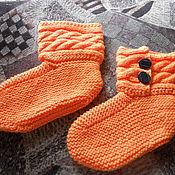 Одежда ручной работы. Ярмарка Мастеров - ручная работа Носочки-сапожки. Handmade.