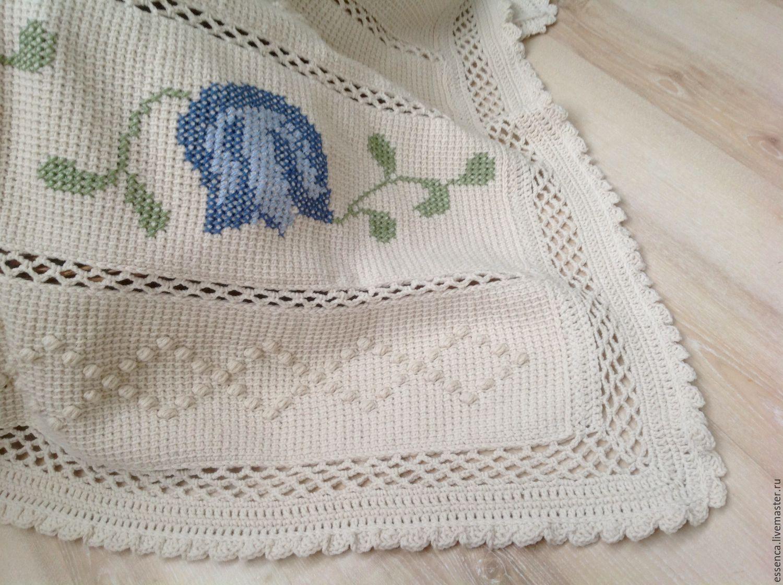 Покрывала тунисское вязание 84