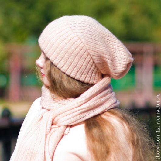 Шапки ручной работы. Ярмарка Мастеров - ручная работа. Купить Комплект шапка, шарф. Handmade. Разноцветный, шапка женская, подарок