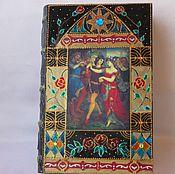 Подарки к праздникам ручной работы. Ярмарка Мастеров - ручная работа Шкатулка-книга из дерева Танец с рыцарем. Handmade.