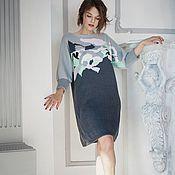 Одежда ручной работы. Ярмарка Мастеров - ручная работа Платье «Леонардо». Handmade.