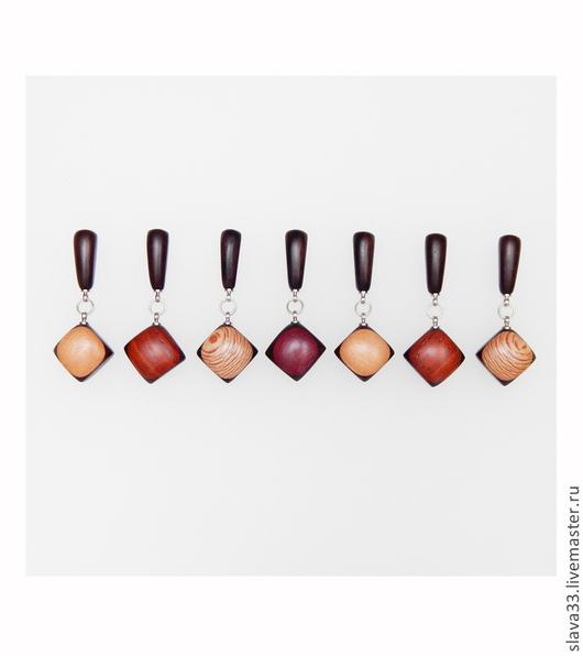 Серьги ручной работы. Ярмарка Мастеров - ручная работа. Купить Разноцветные серьги. Handmade. Разноцветные серьги, оригинальный подарок
