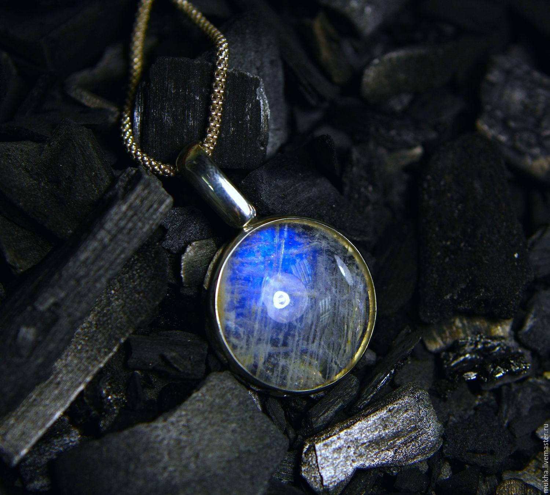 Pendant 'Lunnitsa' Agulera / moonstone, Pendants, Moscow,  Фото №1