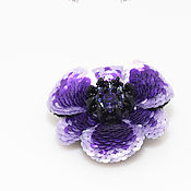 Украшения handmade. Livemaster - original item Bulk brooch Anemone. Handmade.