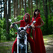 "Одежда handmade. Livemaster - original item Men`s costume ""Red len. Handmade."