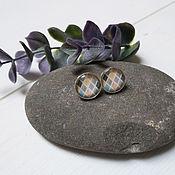handmade. Livemaster - original item Earrings silver Diamonds. Handmade.
