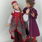 Куклы и игрушки ручной работы. Ярмарка Мастеров - ручная работа Иван да Марья. Handmade.