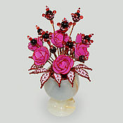 Цветы и флористика handmade. Livemaster - original item The flowers of the pomegranate