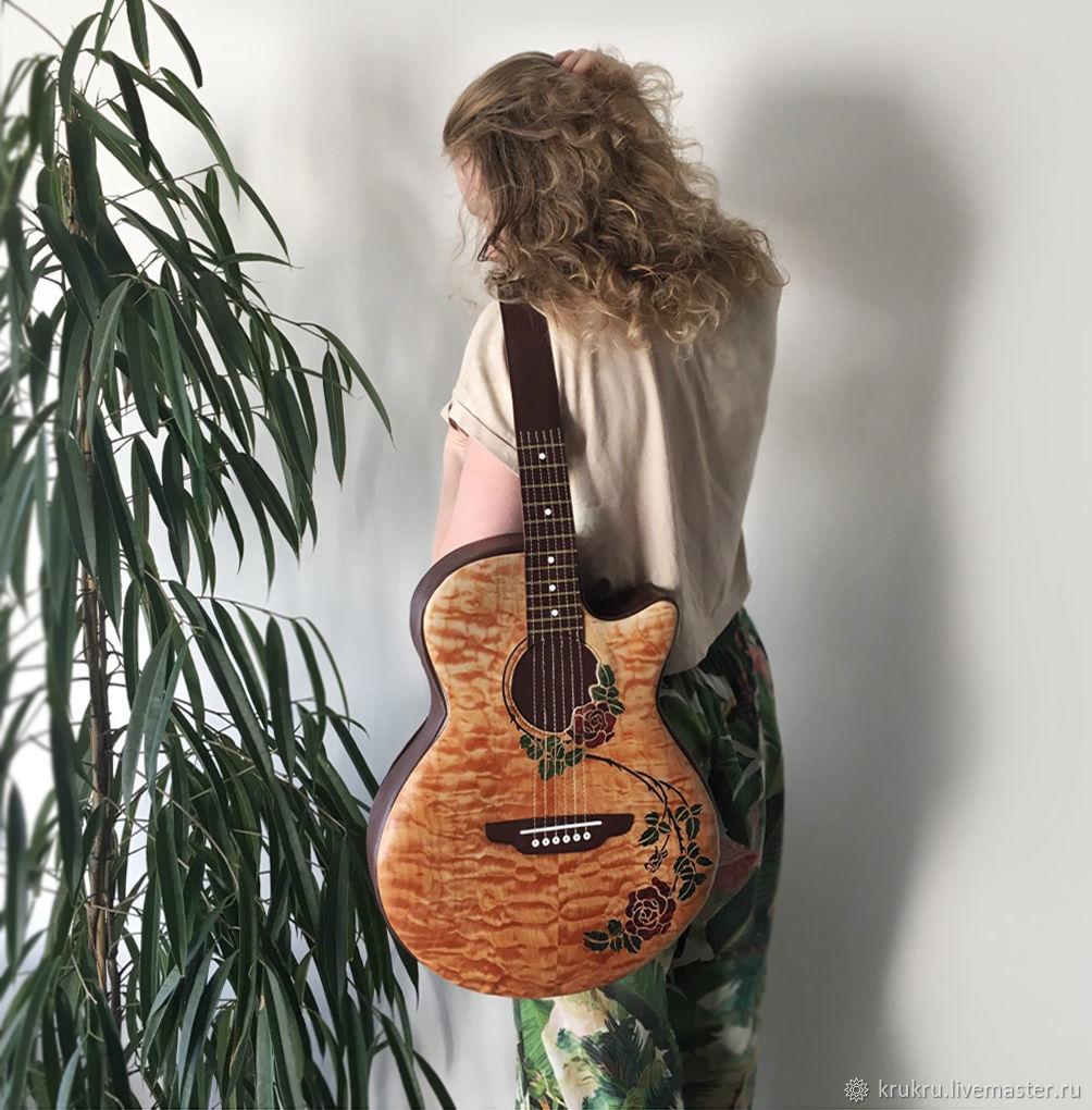 Гитара Rosa из кожи или эко кожи, Классическая сумка, Москва,  Фото №1