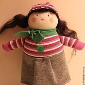 Мягкие игрушки ручной работы. Ярмарка Мастеров - ручная работа носочные игрушки Душки-подружки. Handmade.