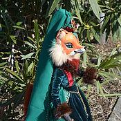Куклы и игрушки handmade. Livemaster - original item Fox Henrietta. Handmade.
