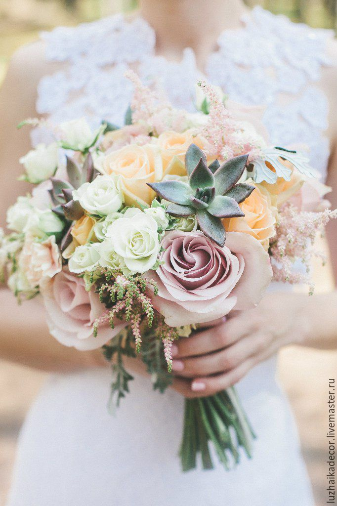 Свадебный букет невесты в санкт-петербурге недорого