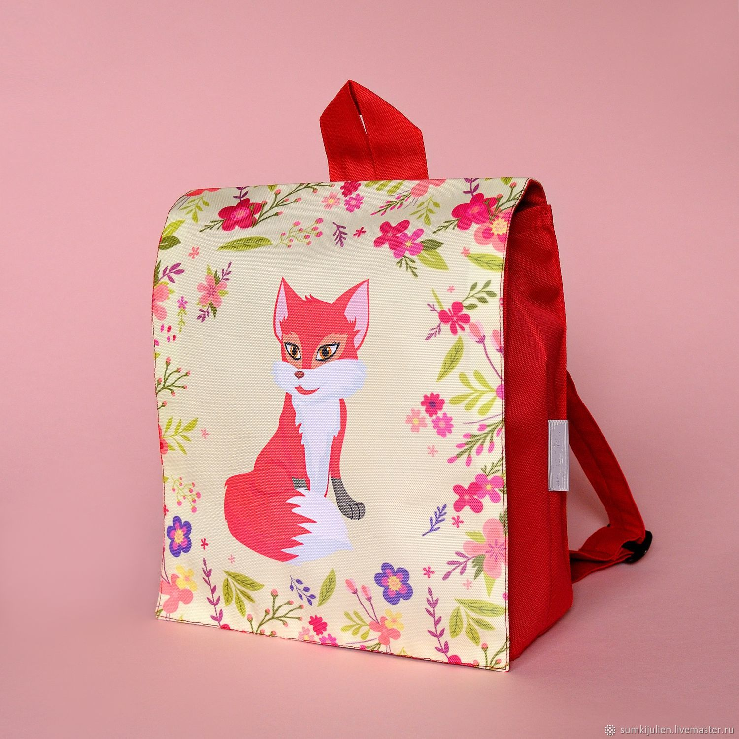 Backpack baby print Fox, Bags, Rostov-on-Don,  Фото №1