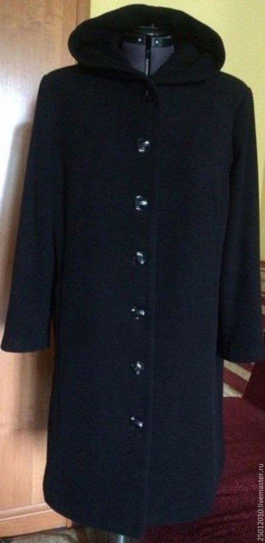 Верхняя одежда ручной работы. Ярмарка Мастеров - ручная работа. Купить Пальто .. Handmade. Черный, пальто женское, пальто на подкладе
