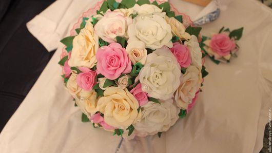 Букет невесты ` Нежность` Автор Алла Мудрая