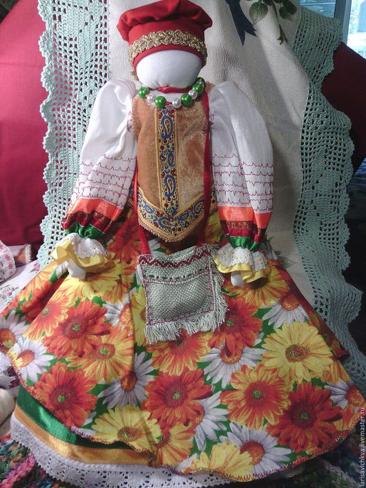 Народные куклы ручной работы. Ярмарка Мастеров - ручная работа. Купить Успешница. Handmade. Кукла, кукла ручной работы, комбинированный