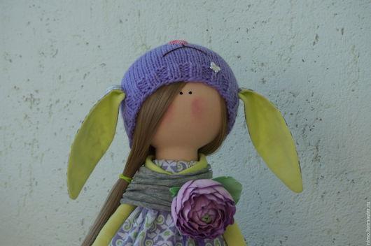 Куклы Тильды ручной работы. Ярмарка Мастеров - ручная работа. Купить девочка овечка. Handmade. Кукла, интерьерная кукла, хлопок