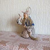 Подарки к праздникам ручной работы. Ярмарка Мастеров - ручная работа Баба - Яга. Ватные елочные игрушки. Handmade.