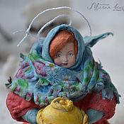 Подарки к праздникам ручной работы. Ярмарка Мастеров - ручная работа Ватная елочная игрушка ДАРЬЯ СЕРГЕЕВНА. Handmade.