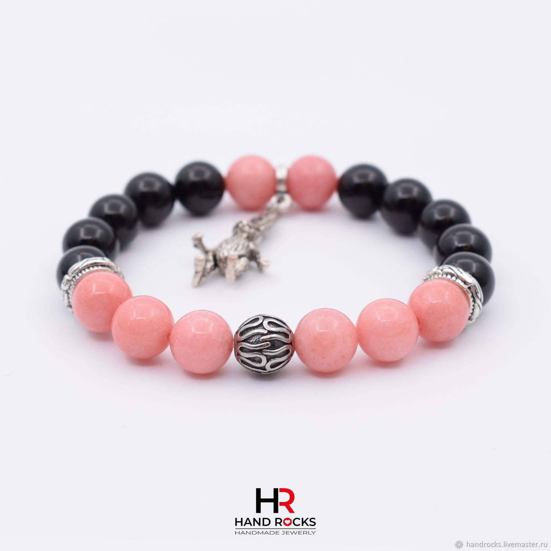 Bracelet made of natural stones, 'Alice in Wonderland», Bead bracelet, Moscow,  Фото №1