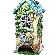 Для дома и интерьера ручной работы. Ярмарка Мастеров - ручная работа Чайный домик Алиса в Стране Чудес. Handmade.