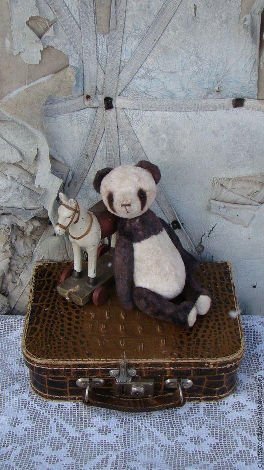 """Мишки Тедди ручной работы. Ярмарка Мастеров - ручная работа. Купить Панда """" Шоколапка"""" !. Handmade. Комбинированный, панда"""