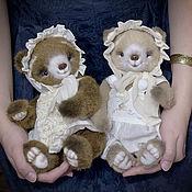 Куклы и игрушки ручной работы. Ярмарка Мастеров - ручная работа Мишки-малыши. Handmade.